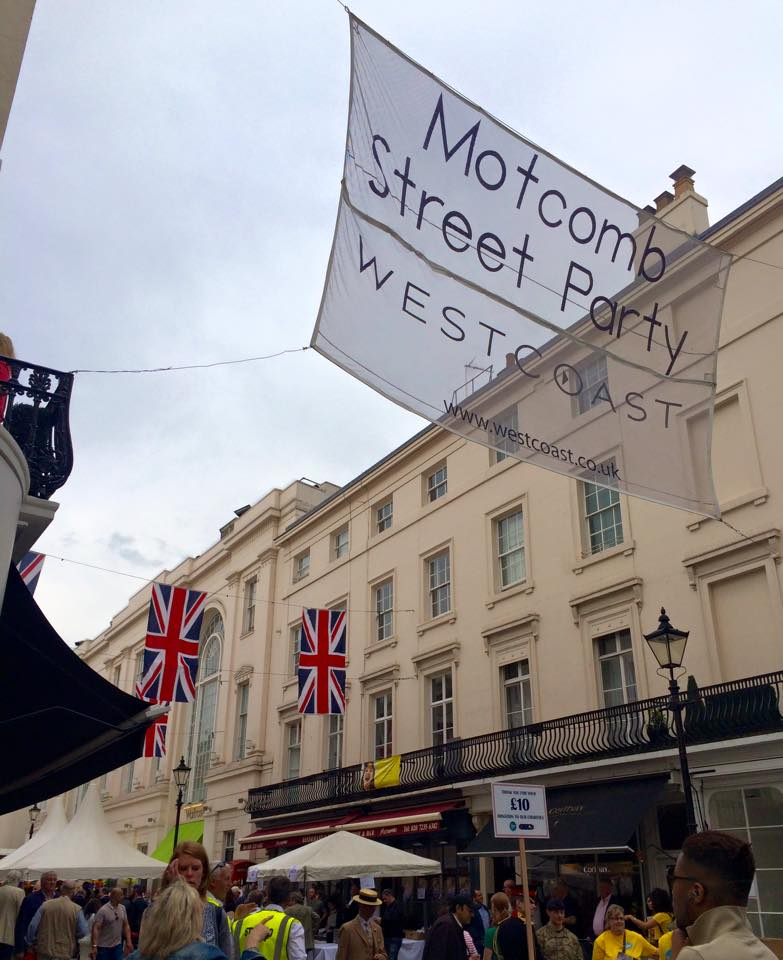 Motcomb Street Party event 2