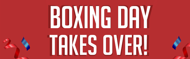 Happy Boxing Day Everyone!